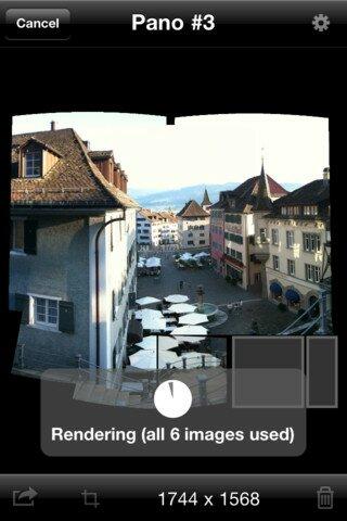 Лучшее средство для создания панорам на iPhone