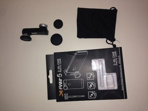 Фишай, широкоугольный, макро объектив для iPhone 5/5s
