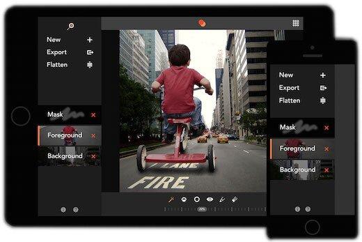 Union - лучшая программа на iPhone для наложения слоев